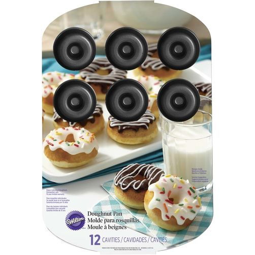 Donut Pan-Medium 12 Cavity
