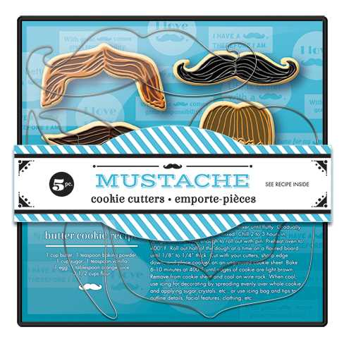 Cookie Cutter Set-Mustache