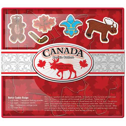 Cookie Cutter Set-Canada