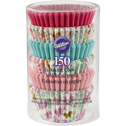 Cupcake Liners-Mini Floral Collection