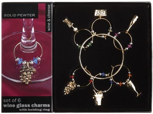 Wine Charms - Wine and Cheese