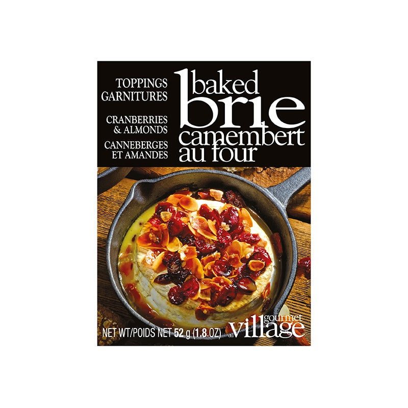 Gourmet Village Brie Topping - Cranberry and Almond