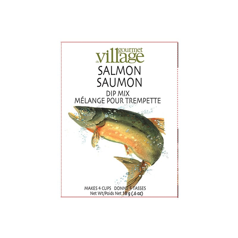 Gourmet Village Salmon Dip Mix