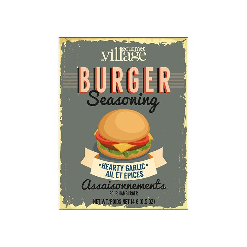 Gourmet Village Burger Seasoning