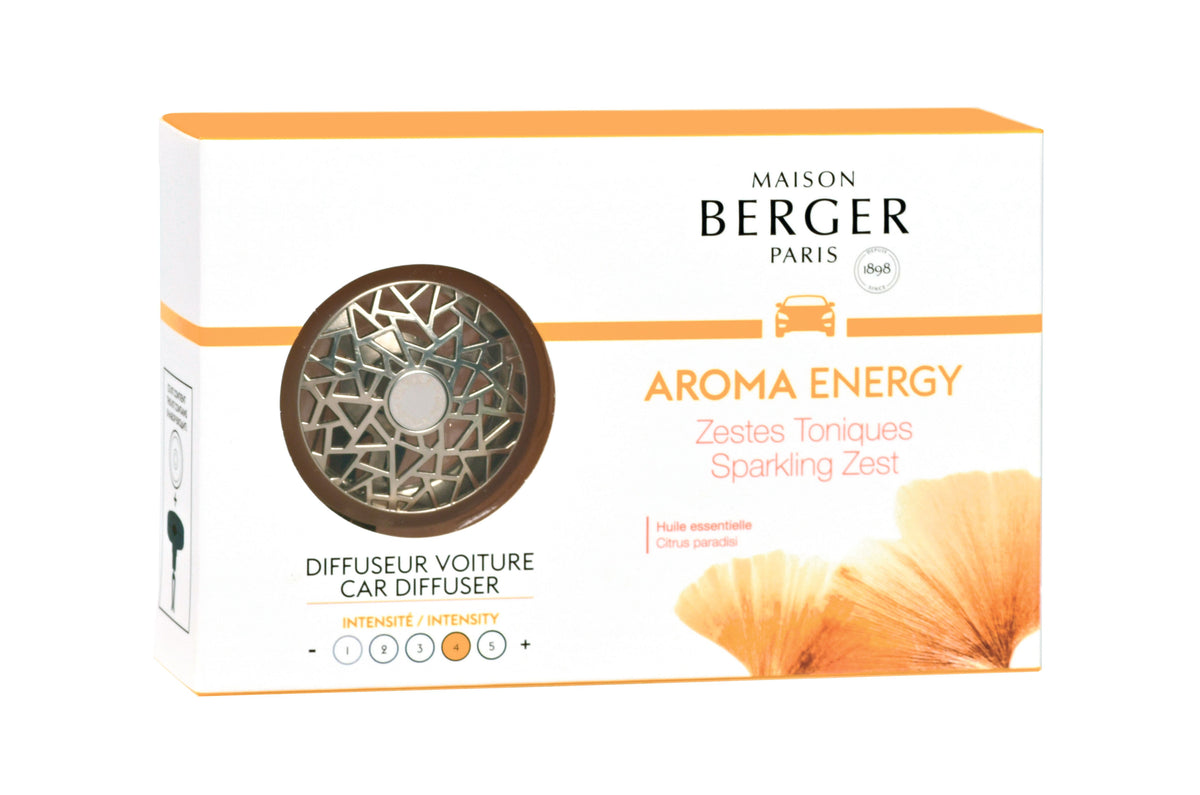 Maison Berger Car Diffuser Kit - Aroma Energy