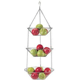 Three-Tier Hanging Basket