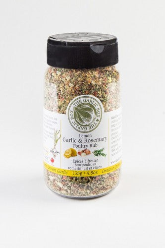 Garlic Box - Lemon Garlic & Rosemary Poultry Rub