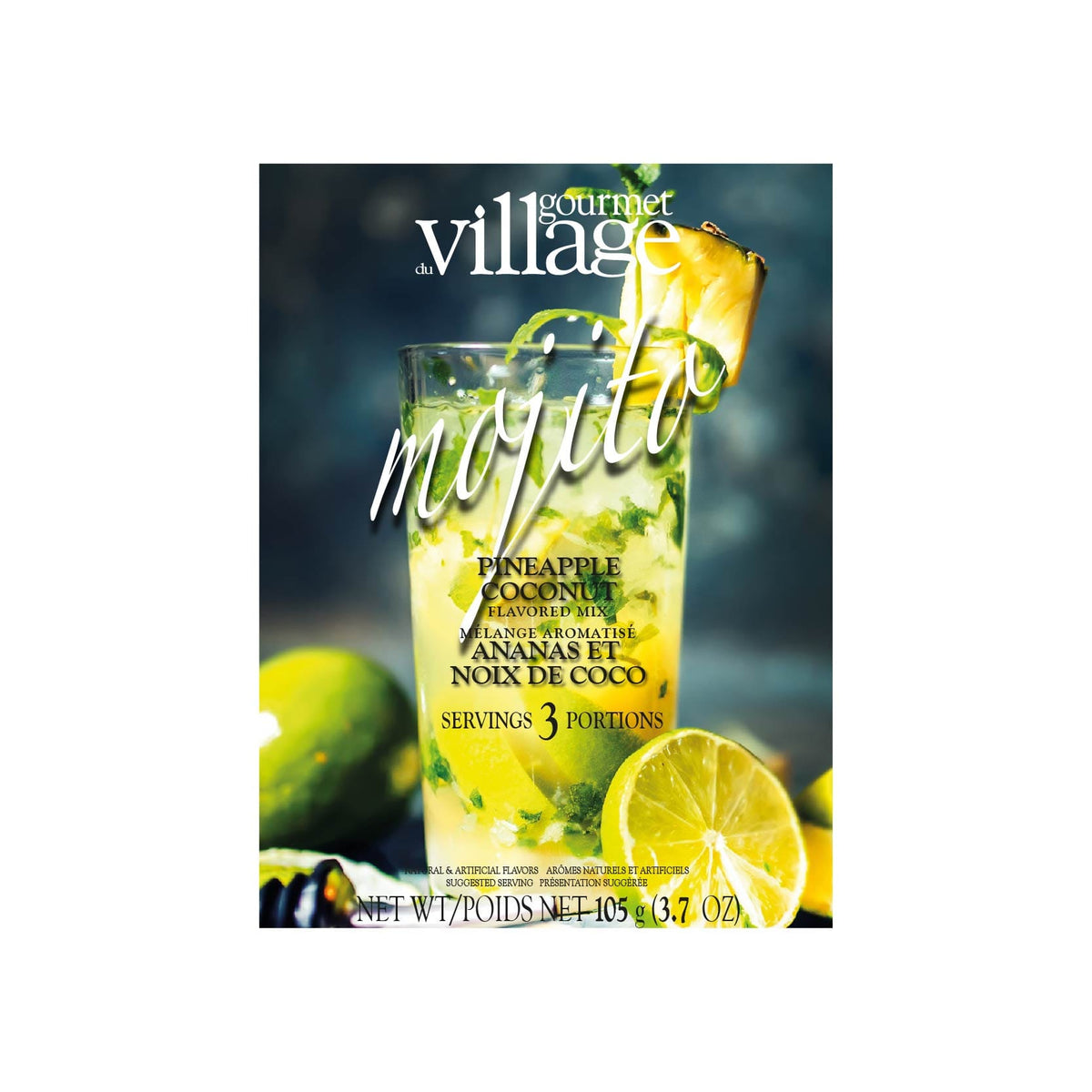 Gourmet Village Mojito Pineapple Coconut