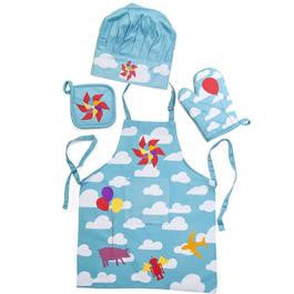 Apron Set - Clouds