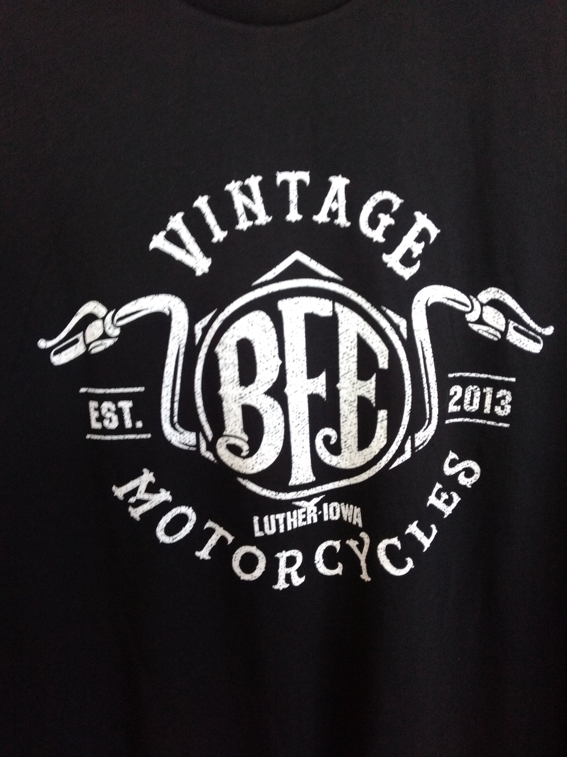 #20 Handle Bars Tee-Black