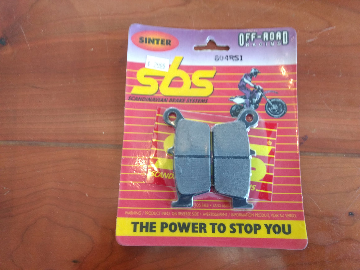 sbs Brake Pad #604RSI.S