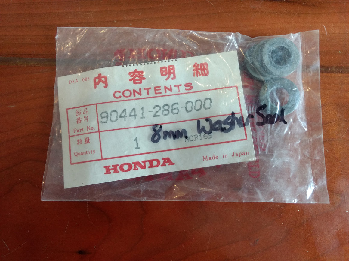 Washer 8mm #90441-286-000