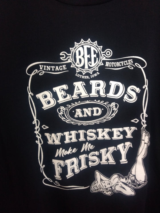 BFE's Beards And Whiskey Tee for Women