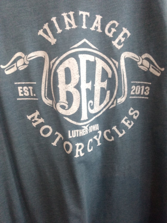 #22 Handle Bars Tee-Blue Slate