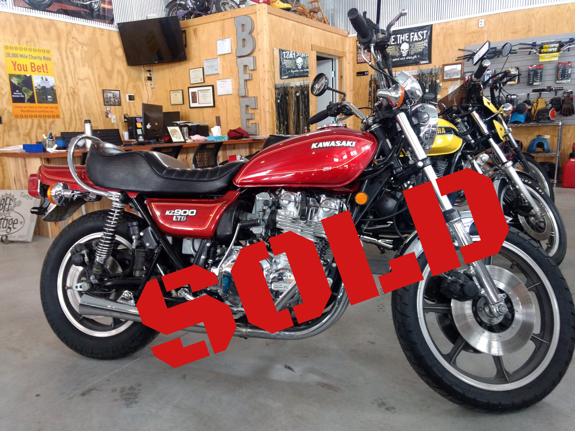 SOLD-1976 Kawasaki KZ900 LTD