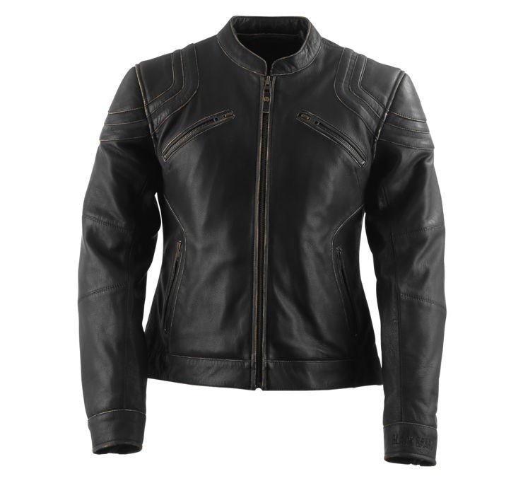 Black Brand Women's Charmer Leather Jacket