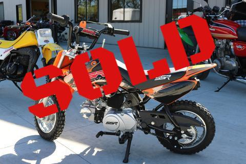 SOLD-SSR 50cc Pit Bike-Sorry, I've been sold!