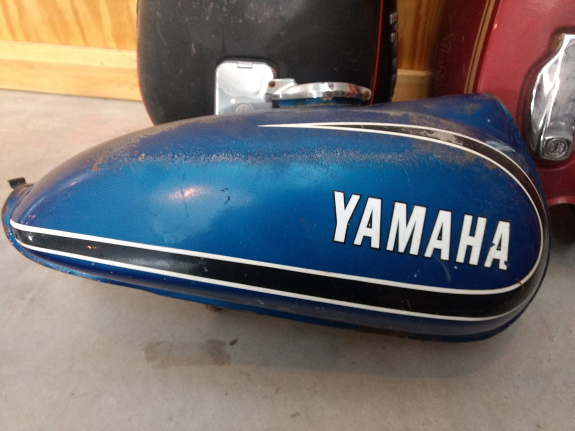 Sold Yamaha Tank - Blue
