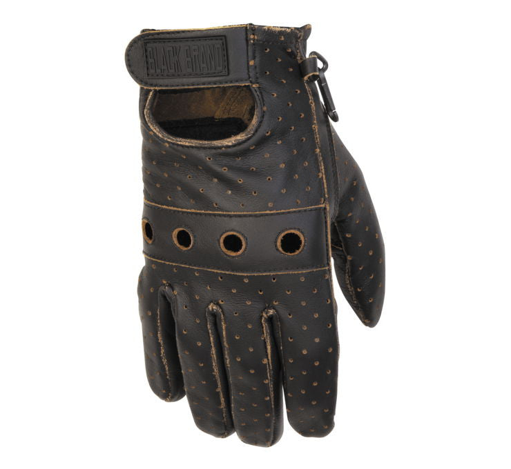 Black Brand Men's Vintage Knuckle Gloves