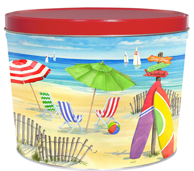 Fun in the Sun 2 Gallon Tin