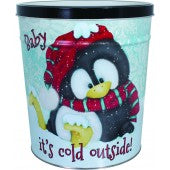Baby It's Cold 3.5 Gallon Tin