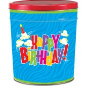 Birthday Pop 3.5 Gallon Tin