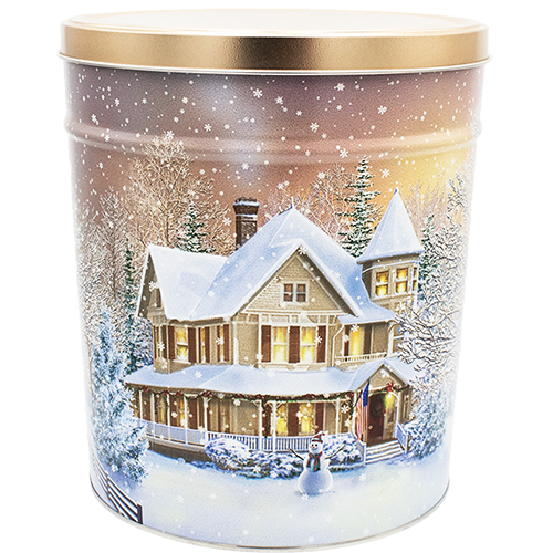 Home for the Holidays 6.5 Gallon Tin