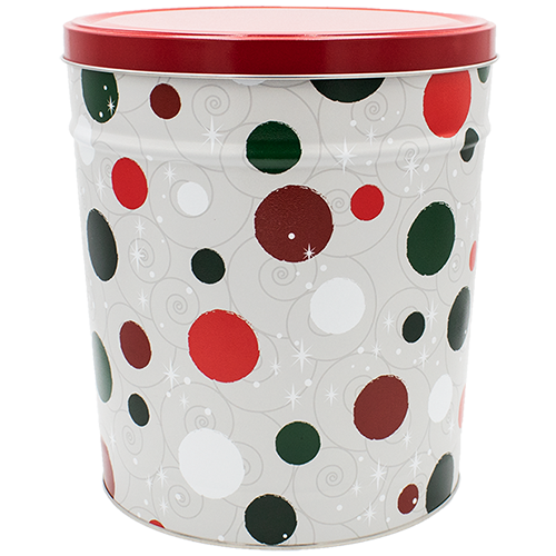Jolly Dots 3.5 Gallon Tin