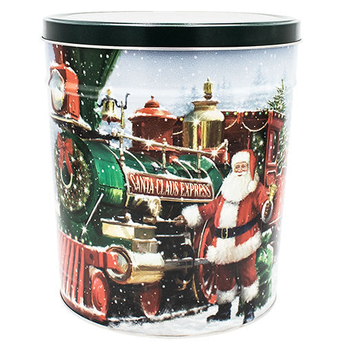 Santa Express 3.5 Gallon Tin