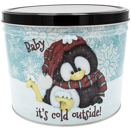 Baby It's Cold 2 Gallon Tin