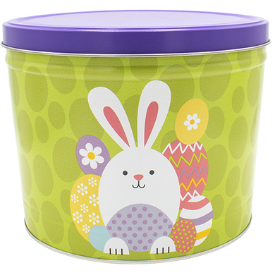 Easter Bunny 2 Gallon Tin