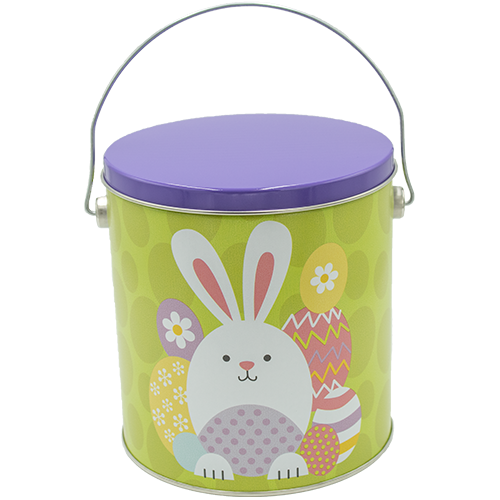Easter Bunny 1 Gallon Tin