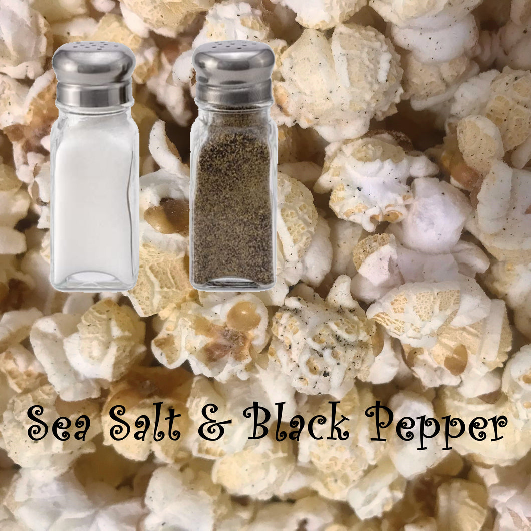 Sea Salt and Black Pepper