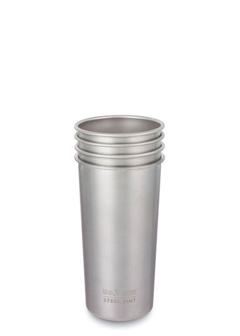 Steel Pint 20oz - 4 Pack