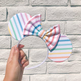 Pastel Rainbow Mouse Ears