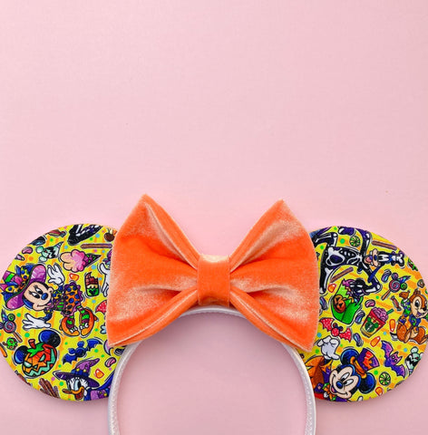 Mickey's Halloween Party Ears