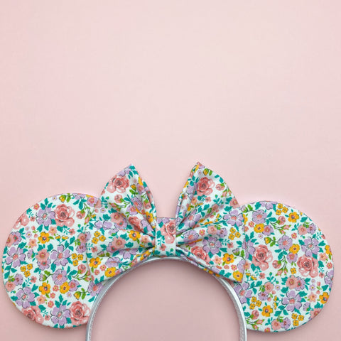 ditsy floral ears