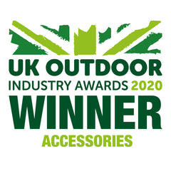 UK Outdoor Industry Awards 2020 - WINNER - Accessories Category