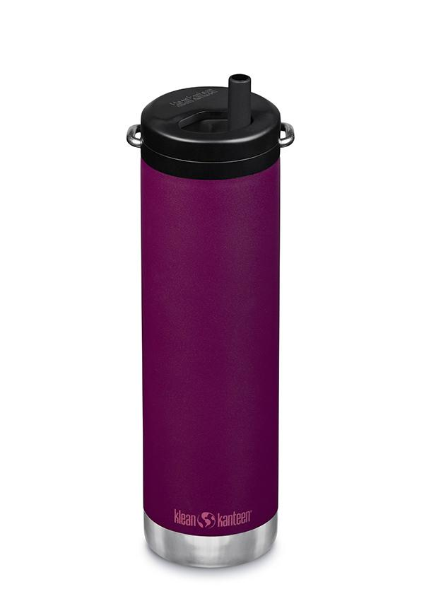 20 oz Water Bottle with Straw Lid