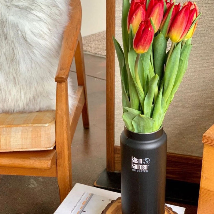Insulated TKWide Repurposed as a Vase