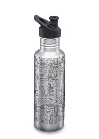 Love Supreme Festival x FRANK Water Classic 27oz (800ml) Bottle