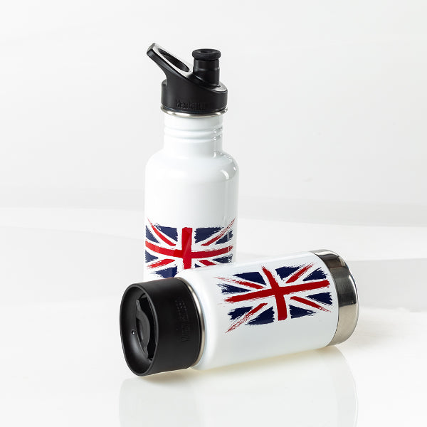 Limited Edition 'Union Jack' Insulated Wide 12oz (355ml)