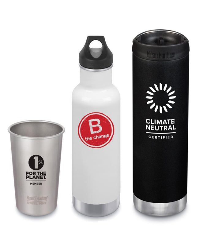 1% for the Planet Member, B Corp and Climate Neutral Certified