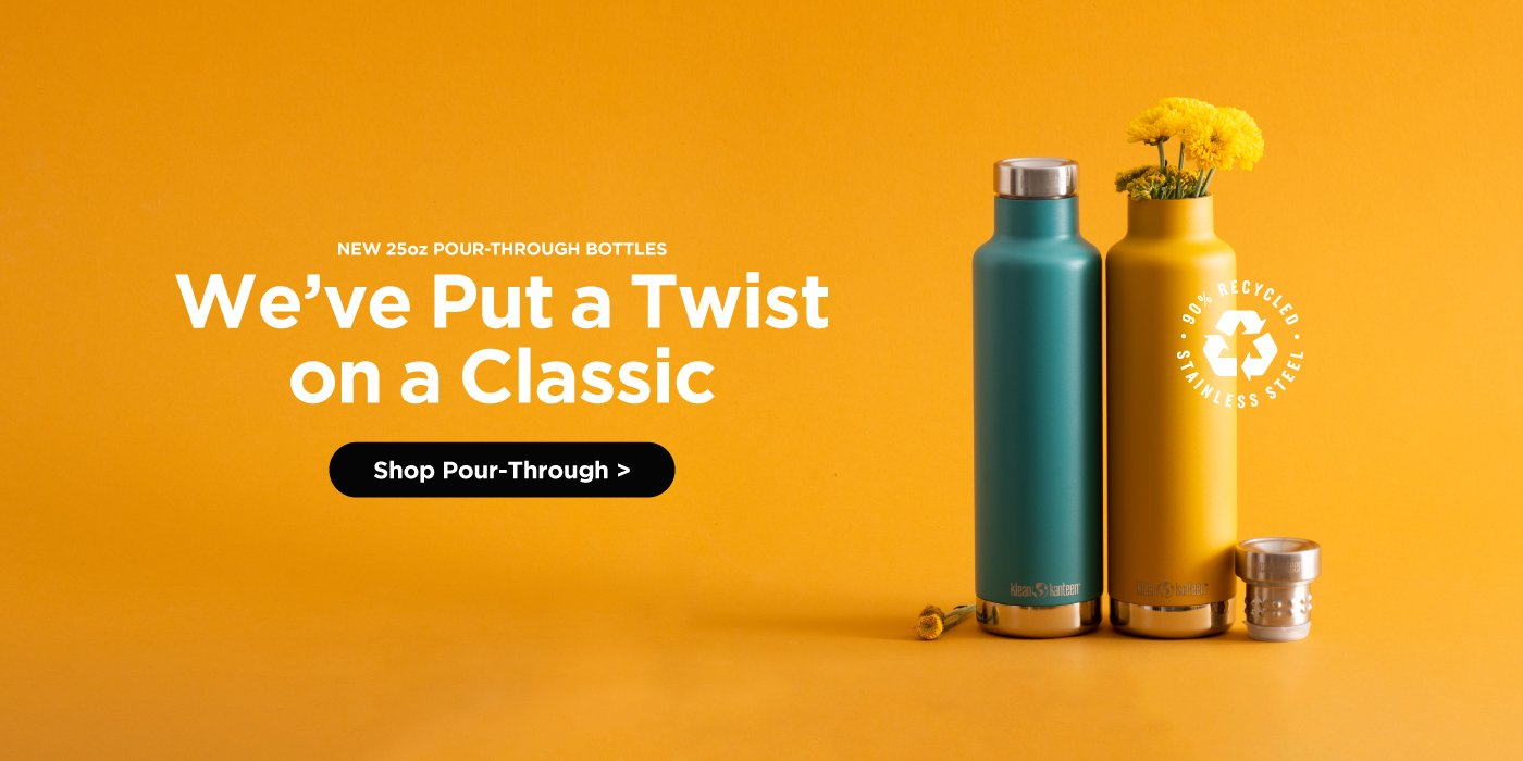 TKPro. A 100% plastic-free thermal Kanteen