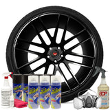 Gloss Black Wheel Kit