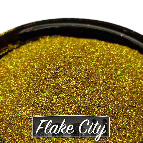 Gold Holographic Flakes .008""
