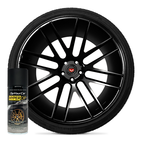 Shadow Black HyperDip™ Wheel Kit