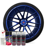 Deep Sea Blue Wheel Kit