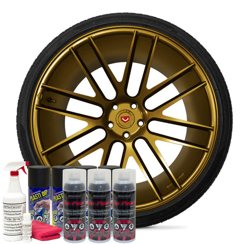 Pure Gold Alloy Wheel Kit