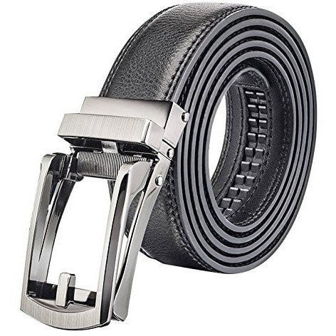 fitsmen Belt Black Comfort Click Belt For Every Size - 28 to 48 Inches